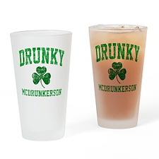 Drunky Drinking Glass