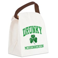 Drunky Canvas Lunch Bag