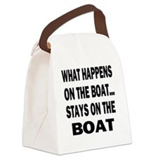 WHAT HAPPENS IPAD 2 Canvas Lunch Bag