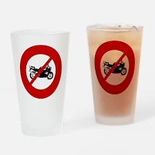 no-crotch-rockets Drinking Glass