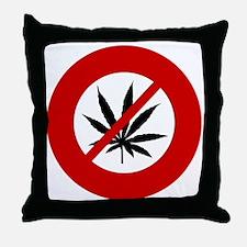 no-hemp Throw Pillow