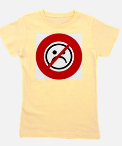 no-frowns Girl's Tee