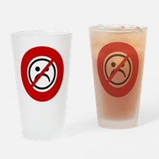 no-frowns Drinking Glass