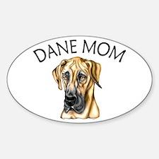 Fawn UC Dane Mom Oval Decal