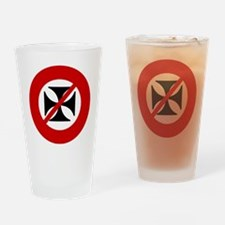 no-west-coast-choppers Drinking Glass