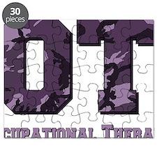 camo letters purple Puzzle