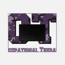 camo letters purple picture frame