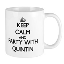 Keep Calm and Party with Quintin Mugs