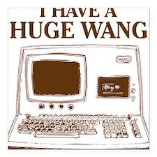 """Huge Wang Square Car Magnet 3"""" x 3"""""""