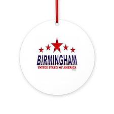 Birmingham U.S.A. Ornament (Round)
