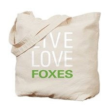 livefox2 Tote Bag