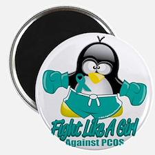 PCOS-Fighting-Penguin Magnet