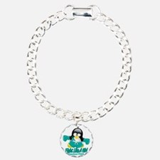 PCOS-Fighting-Penguin Bracelet