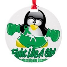 Bipolar-Fighting-Penguin Ornament