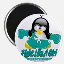 Cervical-Cancer-Fighting-Penguin Magnet