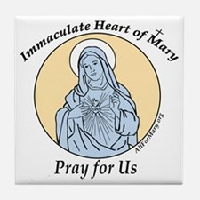 Immaculate Heart Tile Coaster