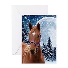 Winter A iPad Greeting Card