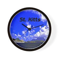 St. Kitts11x11 Wall Clock