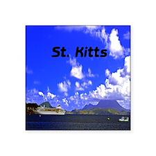 "St. Kitts11x11 Square Sticker 3"" x 3"""