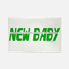 New Baby- September Rectangle Magnet
