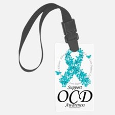OCD-Ribbon-Of-Butterflies Luggage Tag