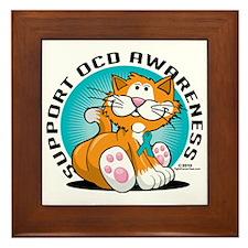 OCD-Cat Framed Tile
