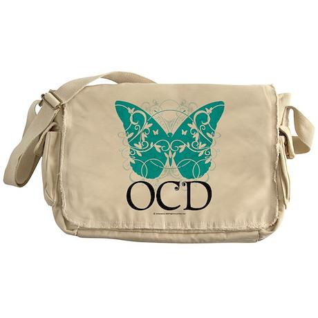 OCD-Butterfly Messenger Bag