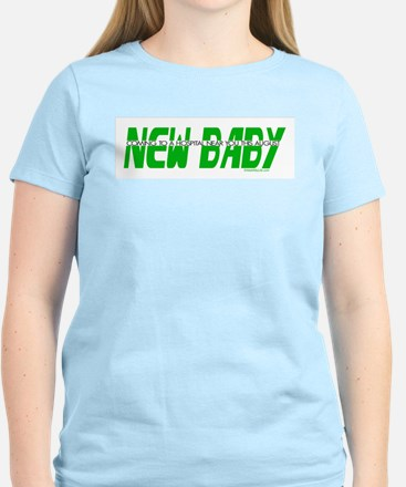 New Baby- August Women's Pink T-Shirt