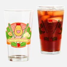 mayomania_credit Drinking Glass