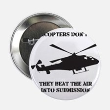 "Helicopter Submission Black 2.25"" Button"