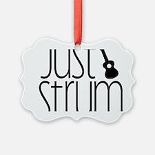 Just Strum Ornament