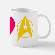 Peace Love Trek -dk Mug