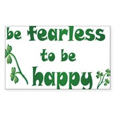 BE FEARLESS copy Decal