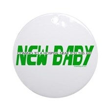 New Baby- July Ornament (Round)