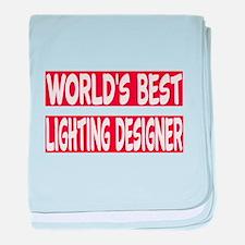 World's Best Lighting designer baby blanket