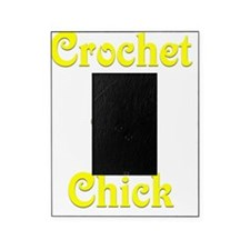 Crochet Chick Picture Frame