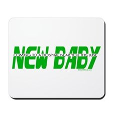 New Baby- June Mousepad
