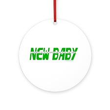 New Baby- June Ornament (Round)