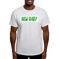 New Baby- June Ash Grey T-Shirt