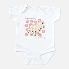 Bulldog Happiness Infant Bodysuit
