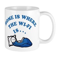 Home is where the wi-fi is Mugs