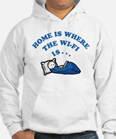 Home is where the wi-fi is Hoodie