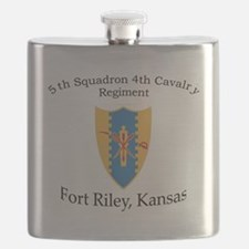 5th Squadron 4th Cav Flask