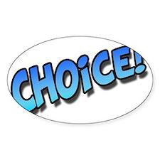 ChoiceBlue Decal