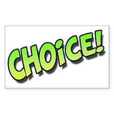 ChoiceGreen Decal