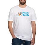 Fishing Buddy Fitted T-Shirt