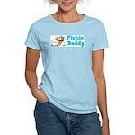 Fishing Buddy Women's Pink T-Shirt