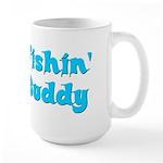 Fishing Buddy Large Mug