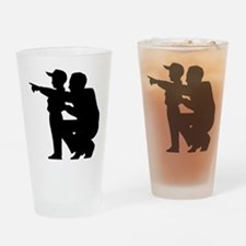 coaching.eps Drinking Glass