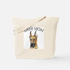Brindle Dane Mom Tote Bag